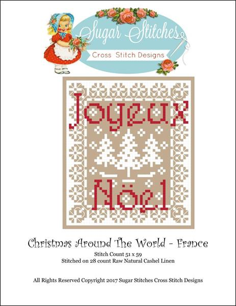click here to view larger image of Christmas Around The World - France (chart)