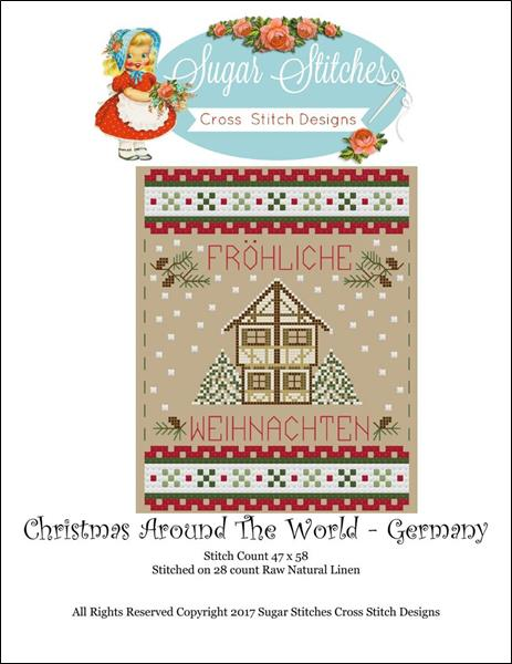 click here to view larger image of Christmas Around The World - Germany (chart)