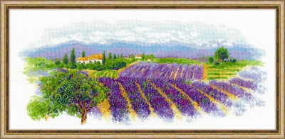 click here to view larger image of Blooming Provence (counted cross stitch kit)