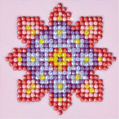 click here to view larger image of Flower Mandala 2 (Diamond Embroidery)