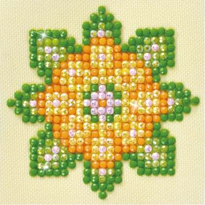 click here to view larger image of Flower Mandala 1 (Diamond Embroidery)