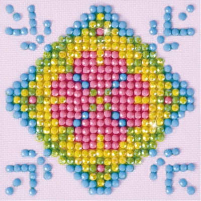 click here to view larger image of Patchwork Mandala 2 (Diamond Embroidery)