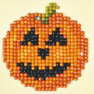 click here to view larger image of Happy Halloween (Diamond Embroidery)