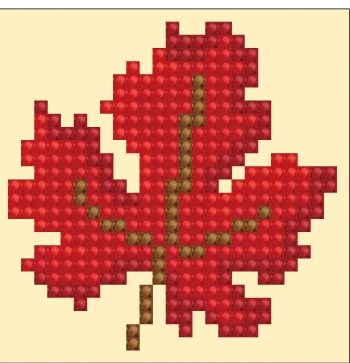 click here to view larger image of Autumn Dream (Diamond Embroidery)