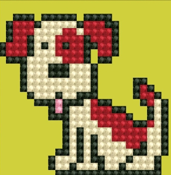 click here to view larger image of Fido (Diamond Embroidery)