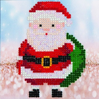 click here to view larger image of Santa Claus Sack (Diamond Embroidery)