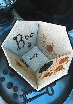 click here to view larger image of Boo Sewing Basket (chart)