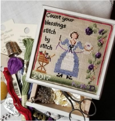 click here to view larger image of Count Your Blessings Stitch by Stitch (chart)
