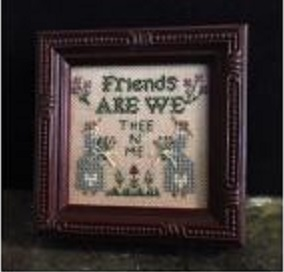 click here to view larger image of Friends Are We - Kit (counted cross stitch kit)