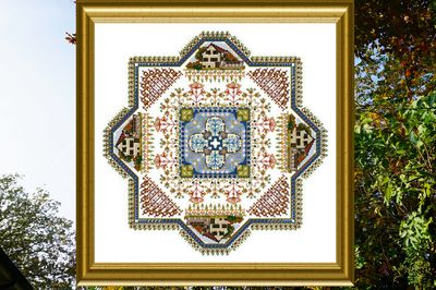 click here to view larger image of Filigree Mandala 2 (chart)