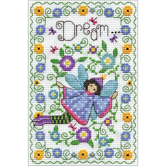 click here to view larger image of Dream Fairy (counted cross stitch kit)