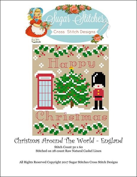 click here to view larger image of Christmas Around The World - England (chart)