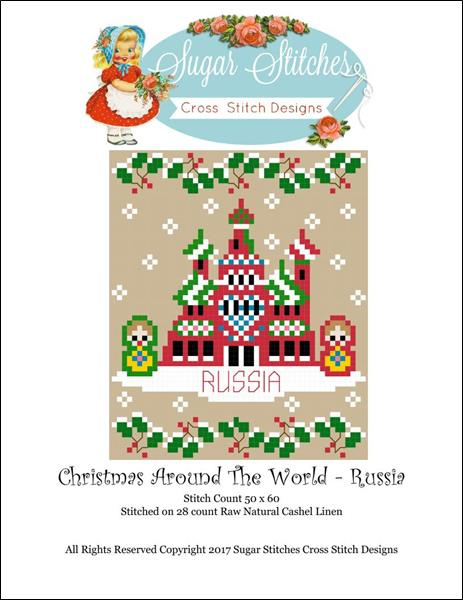 click here to view larger image of Christmas Around The World - Russia (chart)