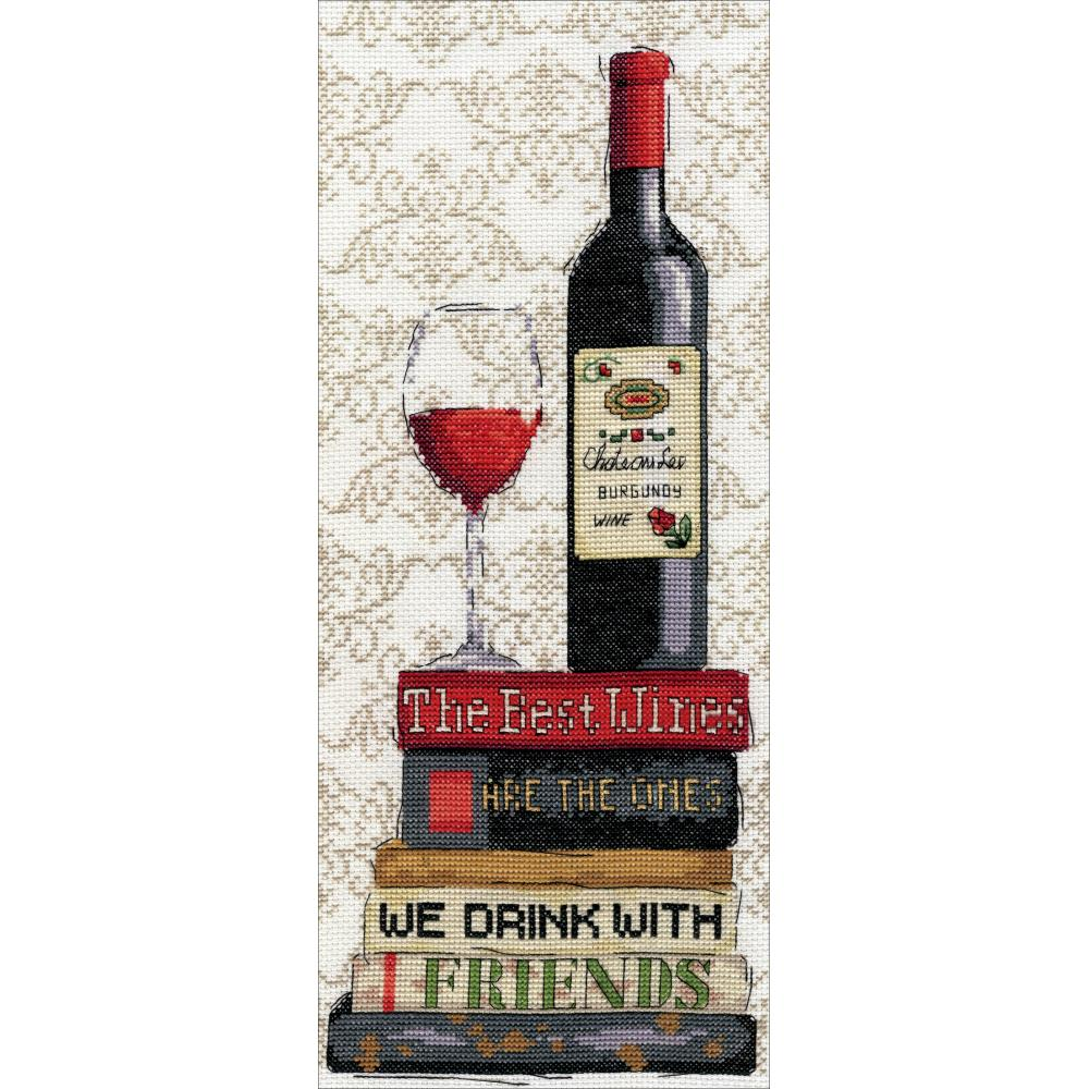 click here to view larger image of Red Wine (counted cross stitch kit)