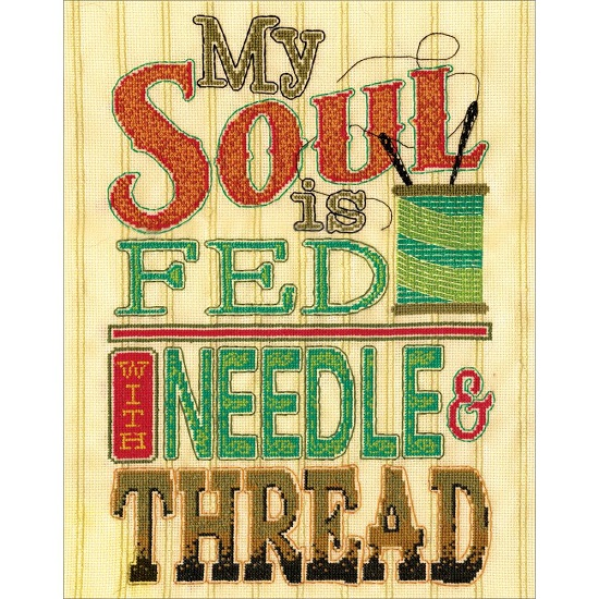 click here to view larger image of Needle and Thread (counted cross stitch kit)