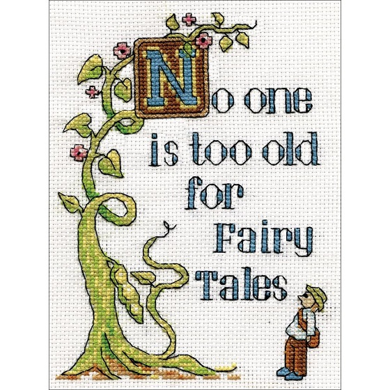 click here to view larger image of Fairy Tales (counted cross stitch kit)