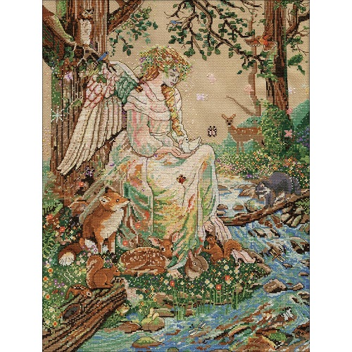 click here to view larger image of Mother Nature (counted cross stitch kit)