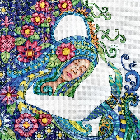 click here to view larger image of Embrace, The (counted cross stitch kit)
