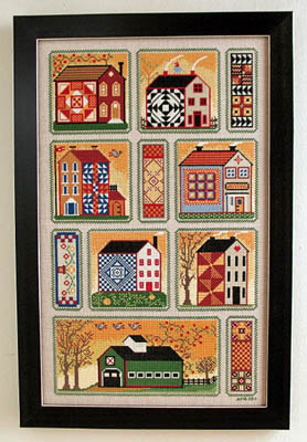 click here to view larger image of Quilty Neighborhood (chart)