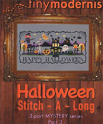 click here to view larger image of Halloween Stitch-A-Long Part 3 (chart)