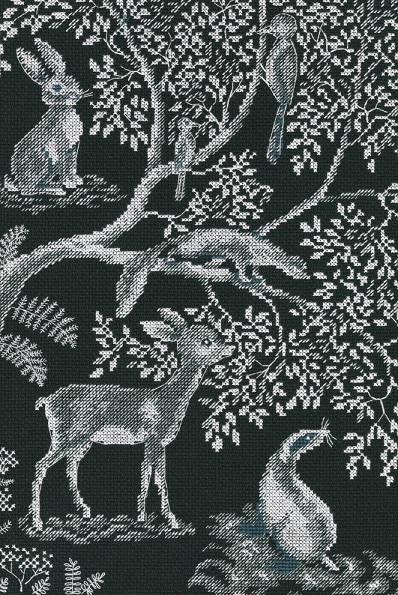 click here to view larger image of Forest Laces (counted cross stitch kit)