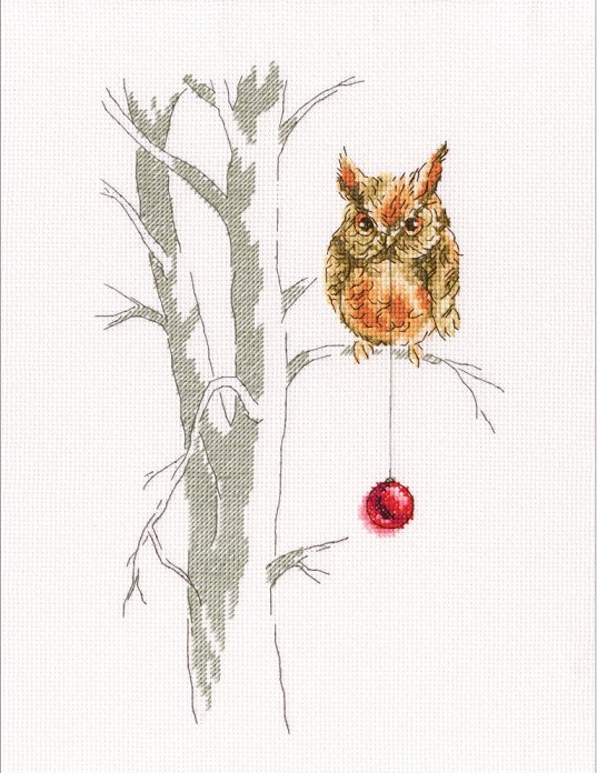 Waiting for a Holiday - click here for more details about counted cross stitch kit