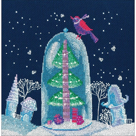 click here to view larger image of Winter Fairy Tale (counted cross stitch kit)