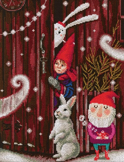 click here to view larger image of Waiting for a Fairy Tale (counted cross stitch kit)
