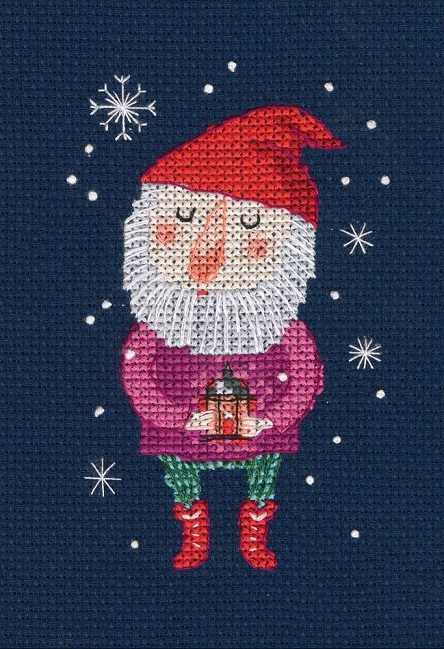 click here to view larger image of Fairy Little Gnome (counted cross stitch kit)