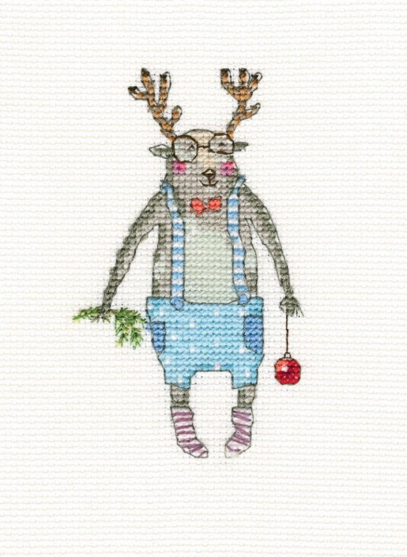 click here to view larger image of Here I Am (counted cross stitch kit)