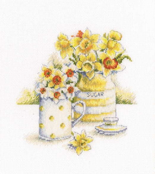 click here to view larger image of Spring Light (counted cross stitch kit)