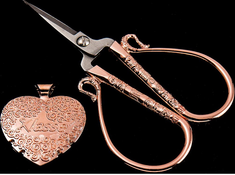 click here to view larger image of Rose Gold Scissor Set (accessory)