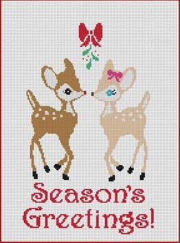 click here to view larger image of Seasons Greetings! (chart)