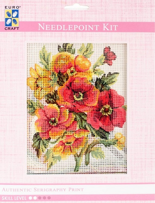 click here to view larger image of Anemones Needlepoint Kit (needlepoint)