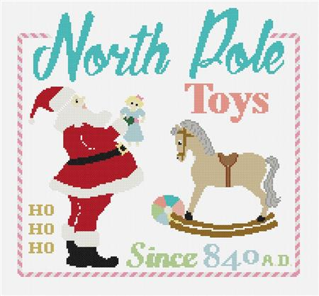 click here to view larger image of North Pole Toys (chart)