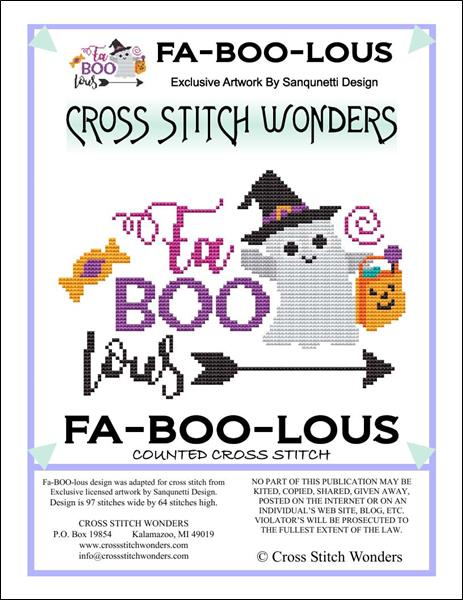 click here to view larger image of Fa-Boo-Lous (chart)
