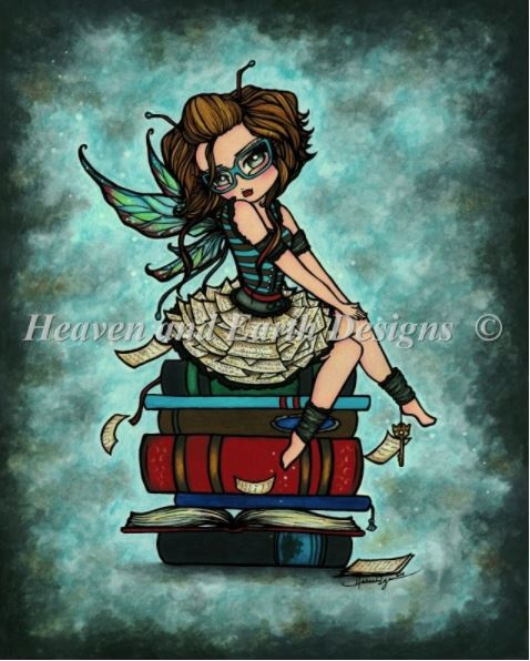 click here to view larger image of Library Fairy (chart)