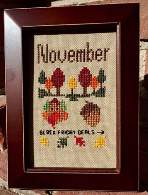 click here to view larger image of Bitty November (chart)