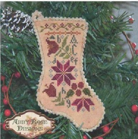 click here to view larger image of Sampler Stocking Ornament (chart)