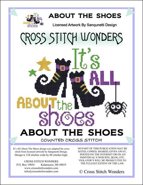 click here to view larger image of Its All About The Shoes (chart)
