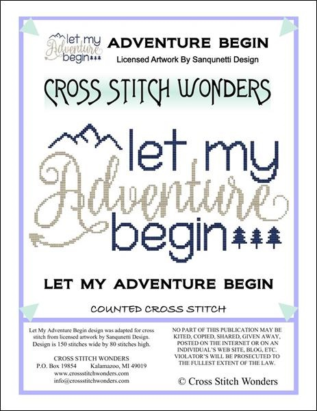 click here to view larger image of Let My Adventure Begin (chart)