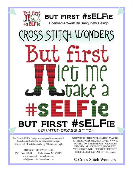 click here to view larger image of But First Let Me Take A #sELFie (chart)