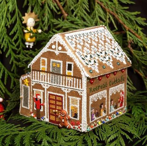 click here to view larger image of Gingerbread Retreat Cottage (chart)