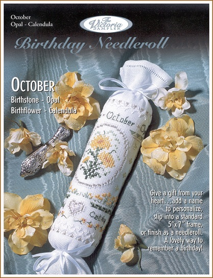 click here to view larger image of October Birthday Needleroll (chart)