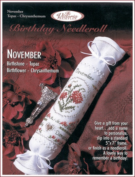 click here to view larger image of November Birthday Needleroll (chart)