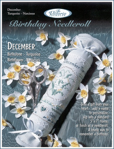 click here to view larger image of Decmeber Birthday Needleroll (chart)