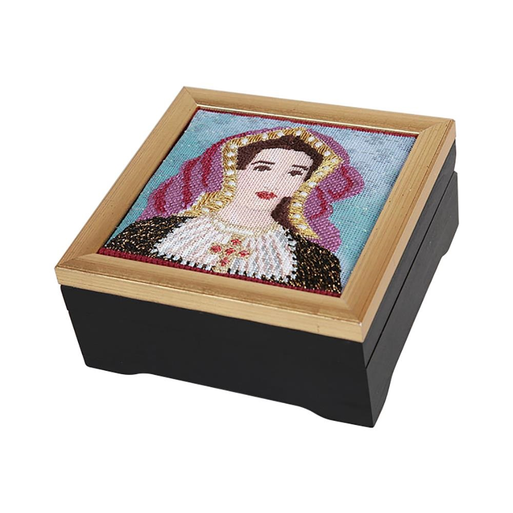 click here to view larger image of Gold Frame Black Box (accessory)