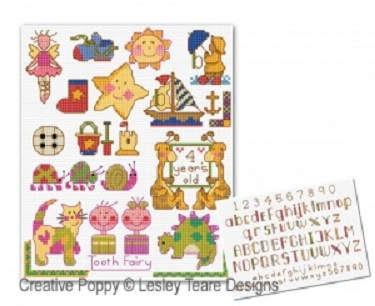 click here to view larger image of Motifs for Tiny Toddlers  (chart)