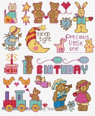 click here to view larger image of Motifs for Little Ones  (chart)