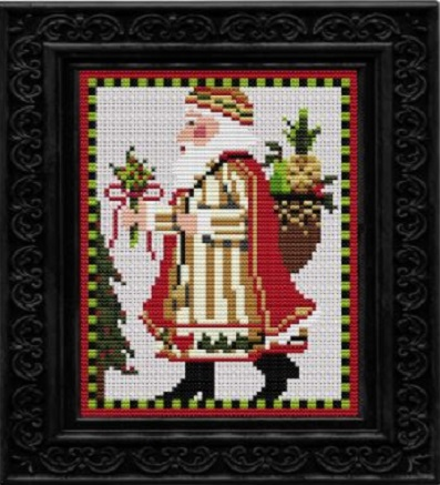 click here to view larger image of Swedish Santa - Kit (counted cross stitch kit)